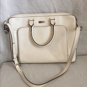 Kate Spade leather briefcase laptop bag